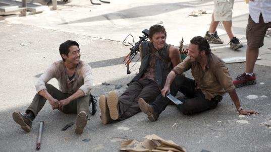 'The Walking Dead' family photo album: 20 behind-the-scenes pics