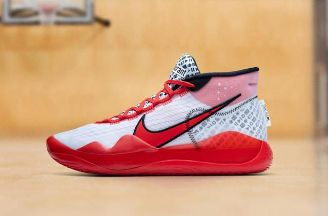 Nike opens NBA season with YouTube-themed Kevin Durant sneakers
