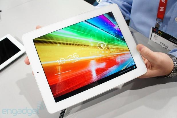 Hands-on with Archos' two iPad lookalike tablets, the Archos Platinum 97 and 80
