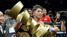 Japan's unbeaten 'Monster' defends title in Vegas debut