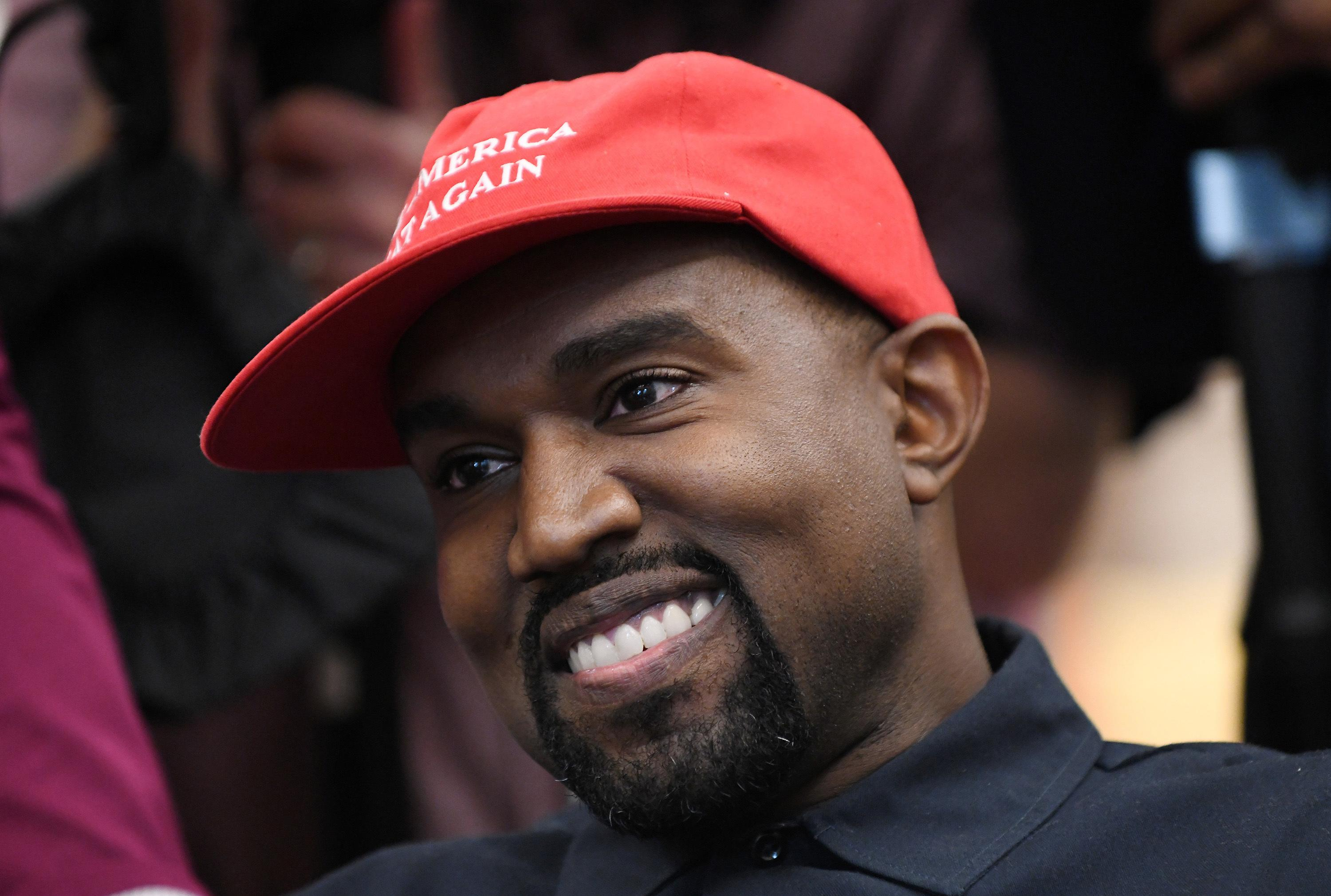 Kanye West takes first official steps towards running for U.S. president