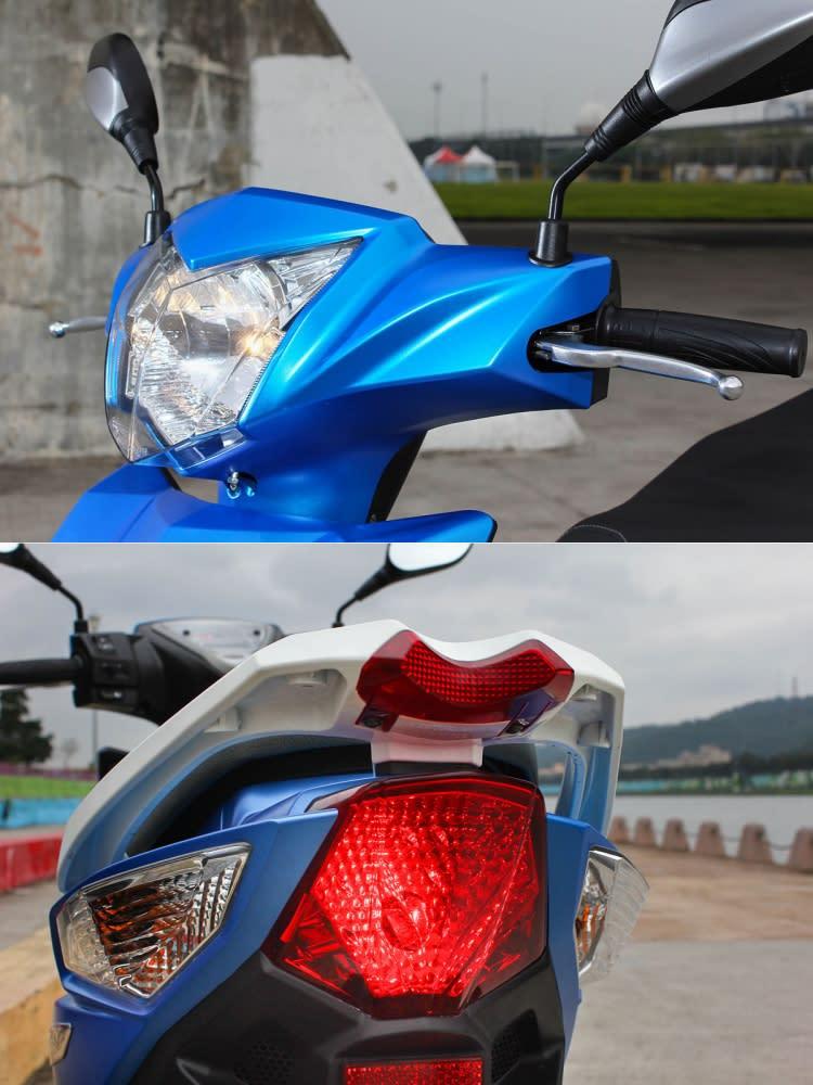 頭尾燈都導入高亮度設計,照明性與辨識度無庸置疑。