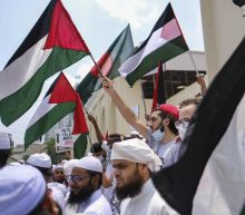 Thousands of Bangladeshi Muslims rally against Israel