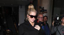 Mira como luce Khloe Kardashian en su sexto mes de embarazo
