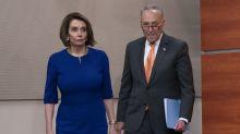 Trump se sale abruptamente de una reunión con los demócratas