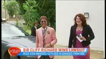 Sir Cliff Richard wins lawsuit