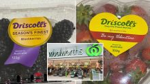 'Upsetting' item found inside box of Woolworths berries