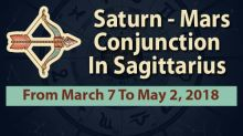 Will Saturn-Mars Conjunction In Sagittarius Change Your Life For The Better?
