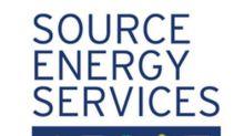 Source Energy Services Announces Normal Course Issuer Bid