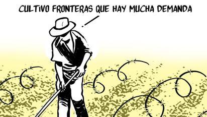 Fronteras: el nuevo mercado de la agricultura