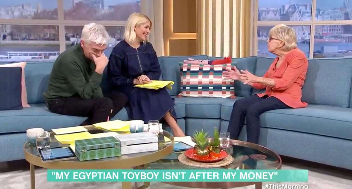 Morning TV hosts stunned by elderly woman's x-rated confession