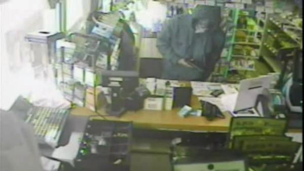 Search for Hatfield gas station armed robber