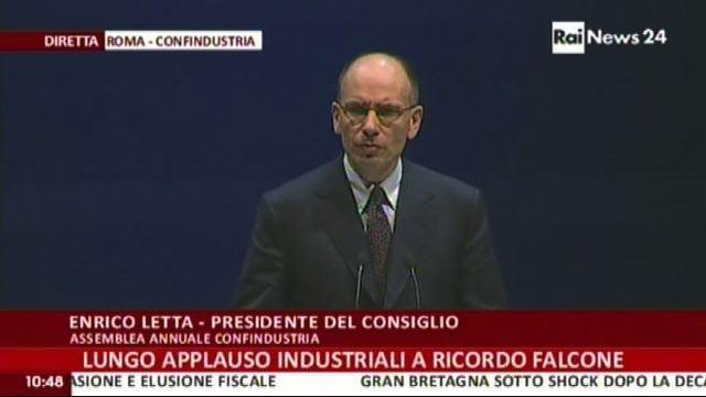 Letta: nuova leadership industriale in Europa - VideoDoc