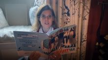 Princess Beatrice shares a story from her cosy home, as she joins Lorraine Kelly for book prize