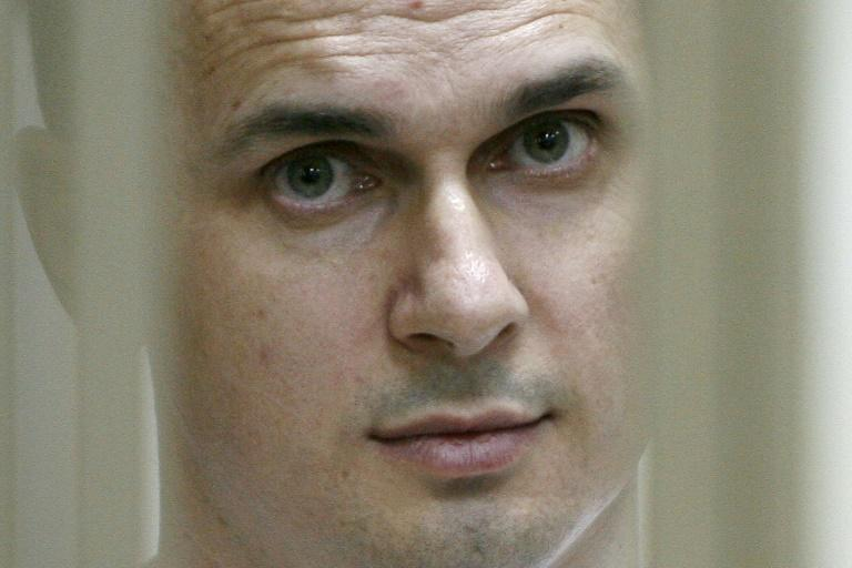 Film director Oleg Sentsov was the most prominent of the Ukrainian prisoners held by Russia
