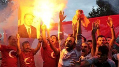 Turkey's Erdogan claims election victory