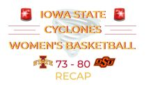 Cyclones Can't Overcome First Quarter Deficit, Fall to Cowgirls