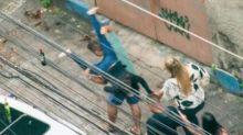 Imagens mostram agressões relatadas por médica no Grajaú