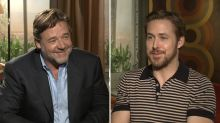 Russell Crowe on Building Comedic Chemistry With Ryan Gosling: 'Ryan Drinks'