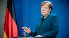 Merkel thanks compliant Germans, shutdown to continue until at least April 20