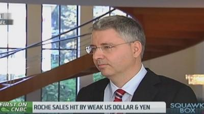 We are pleased with share price: Roche CEO