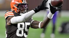 Will TE David Njoku ultimately become draft day trade bait?
