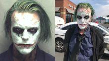 Wegen Schminke: Joker-Doppelgänger droht Gefängnisstrafe