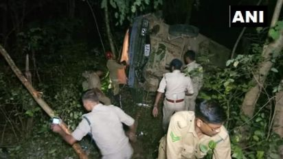 29 Tripura Rifles Personnel Injured in Bus Accident, No Casualties