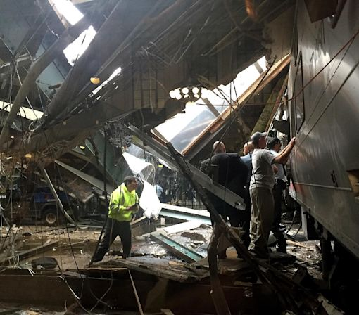 New Jersey Transit train crash in Hoboken
