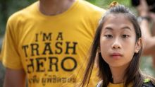 Lilly, 12 años, la Greta Thunberg de  Tailandia en guerra contra el plástico