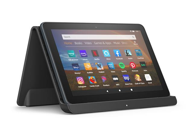 Amazon's latest Fire HD 8 tablets boast sleeker looks and wireless charging