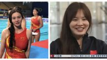 Beautiful Chinese Olympian captures netizens' attention