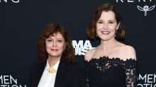 Susan Sarandon and Geena Davis have Thelma & Louise reunion nearly 30 years later