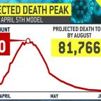 New York sees flattening virus curve, though deaths spike