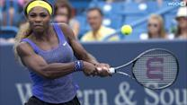 Serena Williams Edges Wozniacki To Reach Final