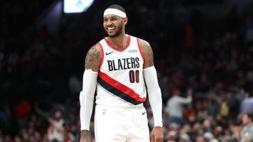 Carmelo Anthony mostra que pode acabar a carreira com dignidade da NBA