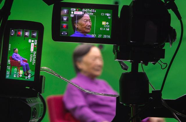 A Nanjing Massacre survivor's story lives on digitally