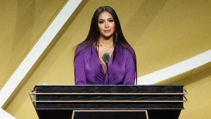 Vanessa Bryant gives moving HOF speech