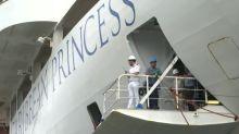 """Fue muy estresante"", dicen tripulantes de crucero al llegar a Panamá"