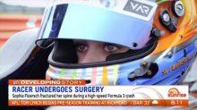 Racer undergoes surgery following Formula 3 crash
