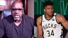 Shaq says Giannis should stay in Milwaukee: 'I'm not gonna turn down $30 million'