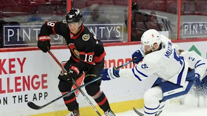 NHL: Stützle verliert erneut mit Ottawa