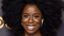 The trick Uzo Aduba used to make her 'crazy eyes' pop on the Emmys red carpet