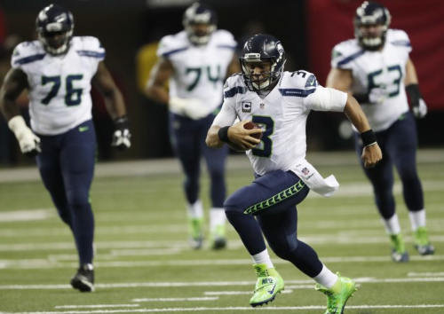 Russell Wilson struggled with some injuries last season. (AP)