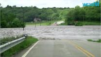 Rain Deluge Hits Southern US States