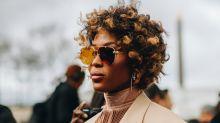 Naomi Campbell begeistert mit ihrem natürlichen Afro