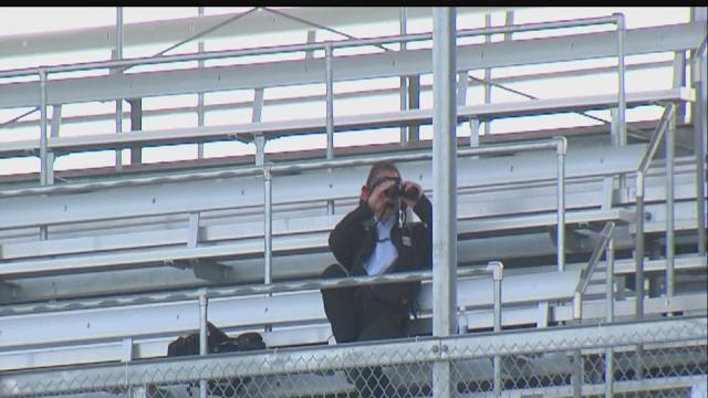 Spotters eyes for IndyCar drivers