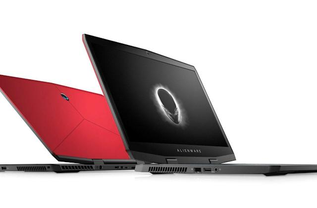 Alienware's lightest 17-inch notebook ever has NVIDIA's RTX graphics