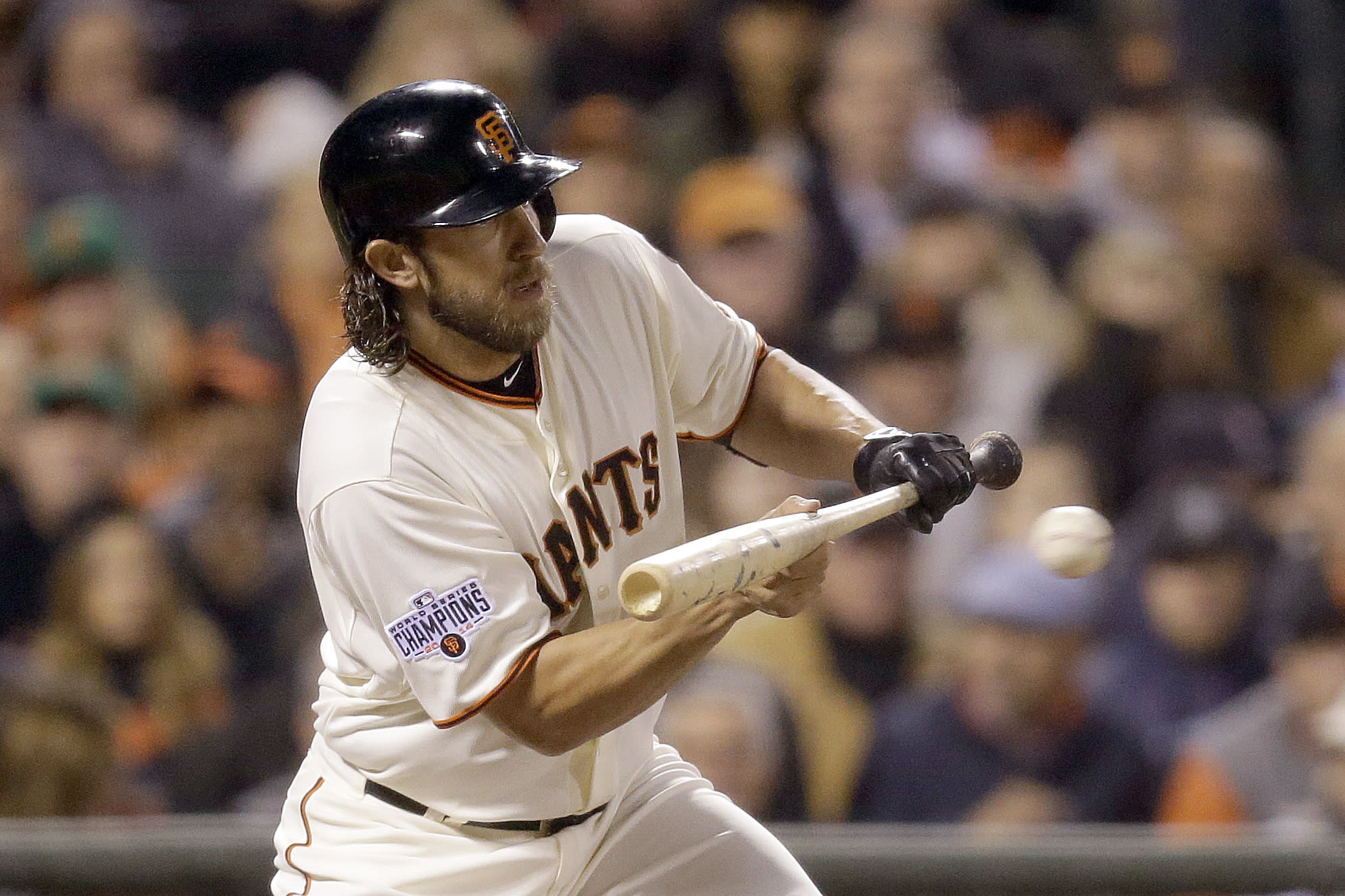 Madison Bumgarner is not happy about Max Scherzer's DH ...