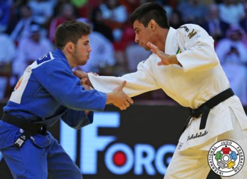 Eric Takabatake volta à Europa para o Grand Slam de Baku
